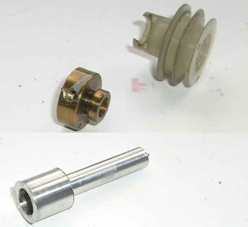 Reducer and pulley bits